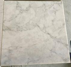 "Zodiaq ""London Sky"" quartz - saw This at Mega Granite in Newnan, Georgia. You will think it is marble! Quartz Backsplash, Quartz Kitchen Countertops, Granite Kitchen, White Kitchen Cabinets, Kitchen Redo, New Kitchen, Stone Countertops, White Kitchens, Kitchen Remodel"