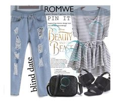 """""""ROMWE 7/XII"""" by saaraa-21 ❤ liked on Polyvore featuring Disney, vintage, romwe, shop and polyvorefashion"""