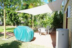How to Install a Shade Cloth Sail Cover for a Patio