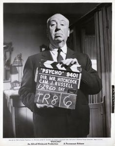 Psycho 3 - Alfred Hitchcok by gwenboul, via Flickr