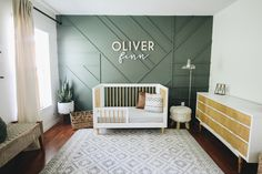 Toddler Bedroom Mood Board - Within the Grove Green Boys Room, Bedroom Green, Baby Bedroom, Baby Boy Rooms, Nursery Room, Kids Bedroom, Baby Room Furniture, Baby Room Decor, Green Accent Walls