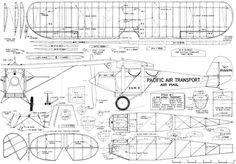 Ryan M-1 Mailplane Plans - Airplanes and Rockets