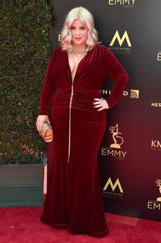 Risa Dorken - 2018 Daytime Emmy Awards: See the stars on the red carpet Velvet Gown, Red Velvet, Curvy Dress, Curvy Plus Size, Wonderwall, General Hospital, Red Carpet, Awards, Necklace Chain