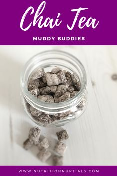 No time for holiday baking this year? Whip up these easy Chai Tea Muddy Buddies in under 10 minutes and impress your guests or give away as tasty gifts. Tea Recipes, Snack Recipes, Dessert Recipes, Cooking Recipes, Appetizer Recipes, Muddy Buddies Recipe, Easy Homemade Gifts, Healthy Appetizers, Healthy Meals