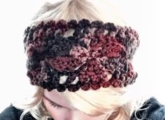 Hair Wrap Ear Warmer hair style Multicolored Headband with Wooden Button by ApostolicArt on Etsy https://www.etsy.com/listing/223011823/autumn-colored-headband-with-wooden