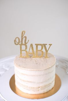 Hey, I found this really awesome Etsy listing at https://www.etsy.com/listing/242797516/oh-baby-cake-topper