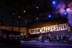 Il palco del Torino Jazz Festival in piazza Castello
