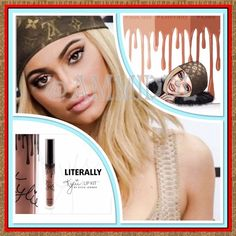 Kylie Gloss by Kylie Jenner- Literally PRICE IS FIRMNO TRADES   Contains: 1 Gloss (0.09 fl oz./oz. liq / 2.60ml)   Literally is a warm toned peachy nude.   This stay-in place lustrous soft focus gloss glides on smoothly & evenly to the lips leaving behind a luminous & voluminous effect. Delivers a long lasting brilliantly glossy end look.  Wear alone, with your favorite lip pencils or layer on top of lipsticks... Also pair with the Kylie Lip Kit for a bold, glossy look. Kylie Cosmetics…