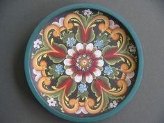 rosemaling | Rogaland rosemaling pattern
