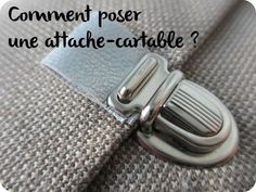 Tuto : comment poser une attache-cartable ?