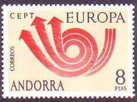 Andorra (Spanish) - Europa / CEPT 1973