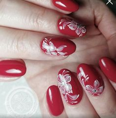 Purple Nail Art, Pretty Nail Art, Red Nails, Christmas Nails, Nail Art Designs, Finger, Lily, Nail Ideas, Home Workouts