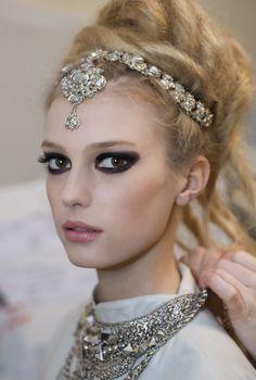 rhinestone headdress