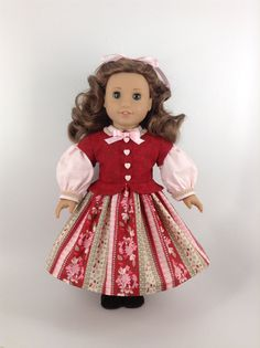 American Girl 18inch Doll Clothes  Civil War by HFDollBoutique, $38.00
