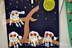 owl kids craft