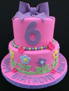 3 year old girls birthday cake pictures princess cakes Two Very