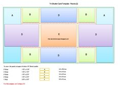 The Per(s)nickety Scrapper: Tri-Shutter Card Templates and Tutorial