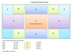 Fun  Fancy Folds  TriFold Shutter   Tri Fold Card