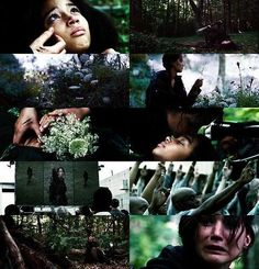This scene. Every time :( #HungerGames #Katniss #Rue