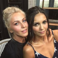 32 Julianne Hough And Nina Dobrev Ideas Nina Dobrev Julianne Hough Nina