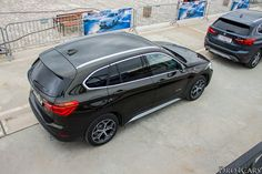 2016 BMW X1 from the top