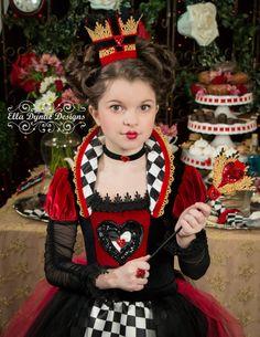 Reina de corazones disfraz de Alicia en el país de por EllaDynae