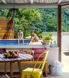 Piscina, academia, spa: diversão em casa é tendência