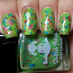 """""""Gag Me With A Spoon"""" part of our newest collection """"THAT'S SO 80's"""" Now available at dollishpolish.com"""