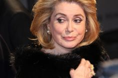 More high-end fashion designers are using models much older than the typical models we tend to see in high fashion advertisements Catherine Deneuve 70