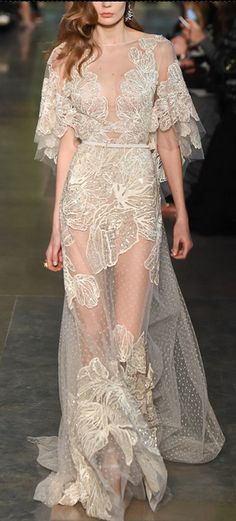 Elie Saab S/S 2015 Couture.