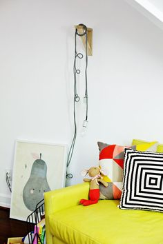 Wire your own hanging modern lamp DIY