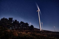 Wind Turbine, Pageants, Pageant Photography, Night, Fotografia