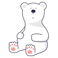 16 Super cute little white bear emoji gifs free emoticon download Cartoon Gifs, Cartoon Drawings, Bear Emoji, Emoticons Download, Bear Gif, Cute Love Cartoons, Line Sticker, Cute Gif, Polar Bear