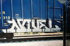 Novel One (Burbank Train Yard) Graffiti, Novels, Yard, Train, Patio, Courtyards, Strollers, Graffiti Artwork, Fiction