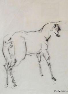 Alert Deer * Sumi Ink on Paper * Kenneth Callahan c. Sumi Ink, Mystic, Deer, Moose Art, Artist, Animals, Animales, Animaux, Artists