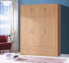 Reduceri nebune Sonoma Oak, Wood Stain Colors, Types Of Doors, Wood Laminate, Mirror Door, Wardrobes, Armoire, Tall Cabinet Storage, Solid Wood