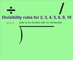 This is a Smartboard lesson that teaches divisibility rules. It includes rules for 2, 3, 4, 5, 6, 9, and 10. Each rule includes an activity for the students to use as practice. The preview page has thumbnail shots of most of the pages in the file. I usually teach this lesson prior to my forgiving method lesson and my long division lesson which are both available on here as well. My divisibility rules jeopardy game is also a great follow up for this.