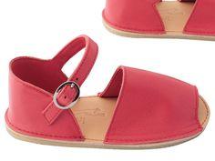 Image of sandales enfant ~ voiture ~ corail • child sandal shoes ~ corail
