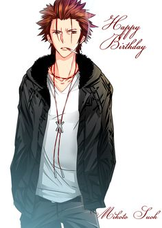 K Project ~~ Happy Birthday, Mikoto Suoh