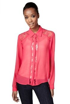 Limited Collection Floral Lace Panelled Blouse