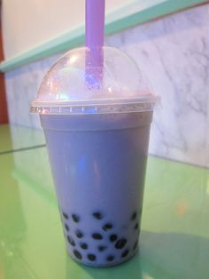 Taro Bubble Tea--best bubble tea flavor!