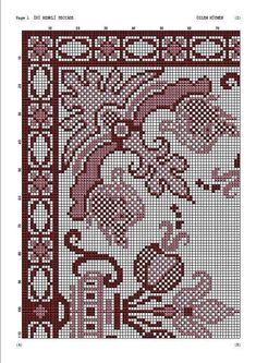 L' art's 548 media details Cross Stitch Rose, Cross Stitch Flowers, Embroidery Patterns, Cross Stitch Patterns, Bargello, Ceramic Art, Wool Rug, Needlework, Diy And Crafts