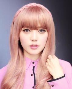 professional rose gold ash blonde hair - Google Search