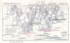Princess Mononoke (1997) - Layout Design