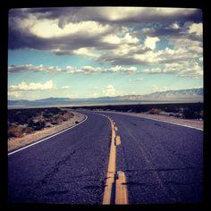 Essex road Cali desert