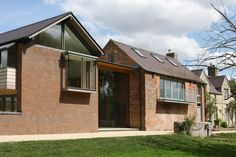 This old mill in Buckinghamshire used our minimally framed #glassslidingdoors to create a modern #glazedlink between the #traditional brick structure and the newer #extension. The result created a series of bright, #openliving spaces, perfect for entertaining family and friends. Glass Balcony, Bedroom Windows, Indoor Outdoor Living, House Extensions, Sliding Glass Door, Minimalism, Living Spaces, Brick, Outdoor Structures