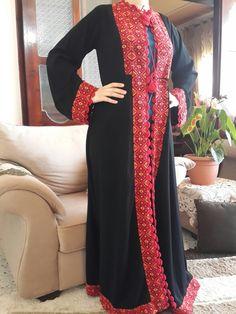 عباية مطرزة تطريز فلاحي فلسطيني Palestinian Embroidery