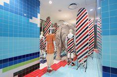 superfuture :: supernews :: tokyo: thom browne surf shop installation © dsm ginza
