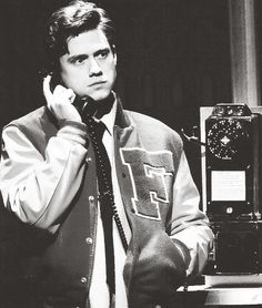 Aaron Tveit in Catch Me If You Can -- please help me i have a problem bc aaron tveit is too wonderful