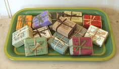 Yummy handmade soaps from Twig Natural Soap Company - I love them!!
